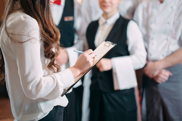 Curso Administración de Personal Restaurantes escuela de negocios de la hospitalidad y alimentación